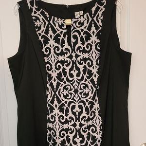 ✂️💲DROP- Like New B&W Dress 20W